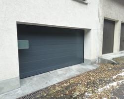 Alp Concept Menuiseries - Aiglun - Porte de garage